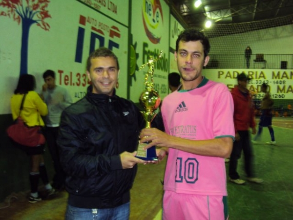 Final do Campeonato Municipal de Futsal 2012